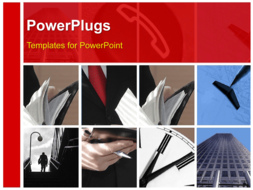 PowerPoint Template - special toned made from business images